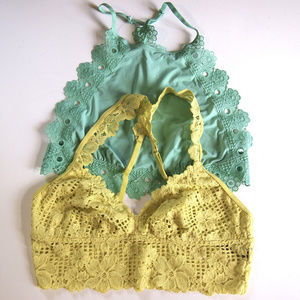 Bundle of 2 New Bralettes by Aerie SZ M